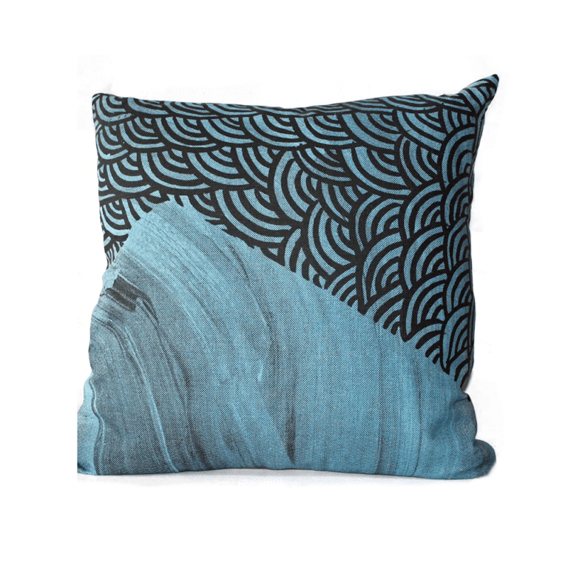 Cushion with Feather Insert by Troy Firebrace