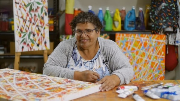 Artist Profile Aunty Frances Nicholson